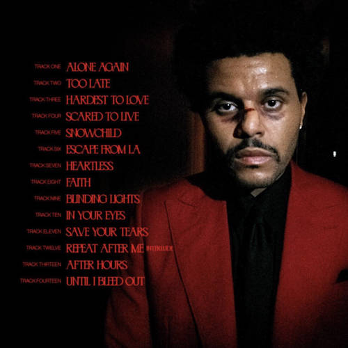 The weeknd new song