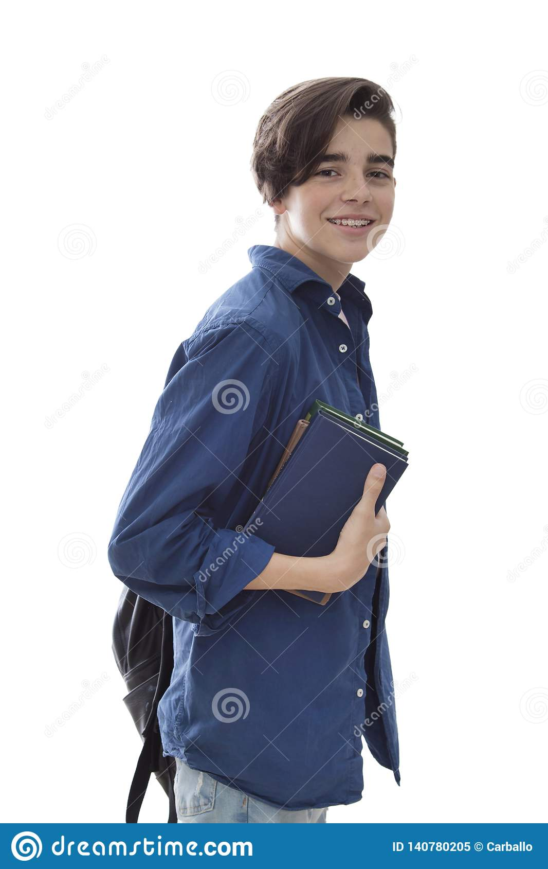 Teen pictures young student