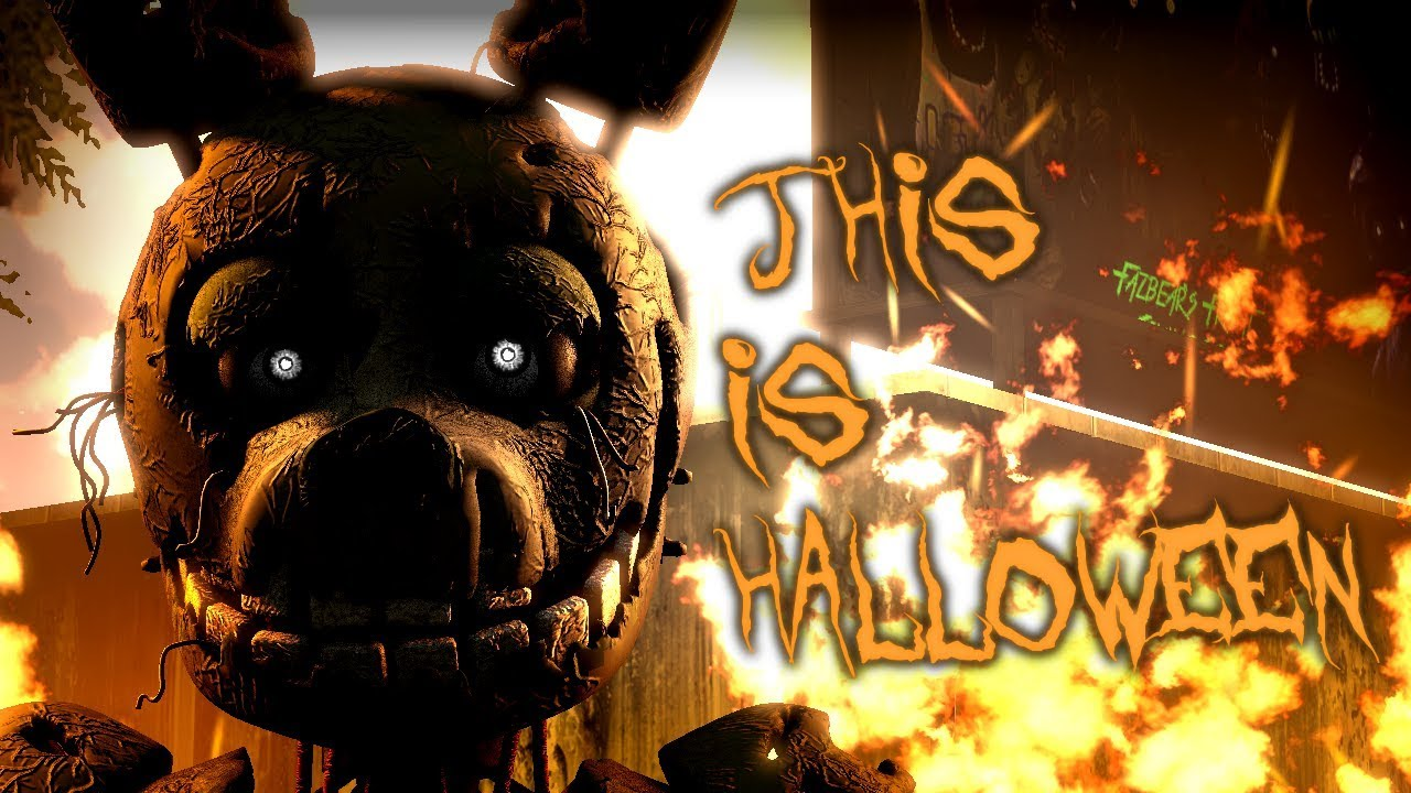 This is halloween fnaf remix