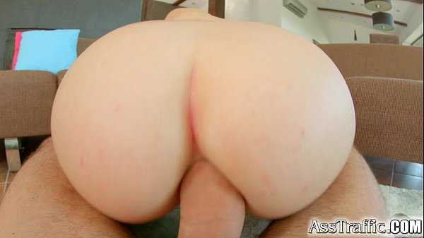 Teen girl with big tits fucked in ass