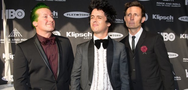 Green day rock hall of fame