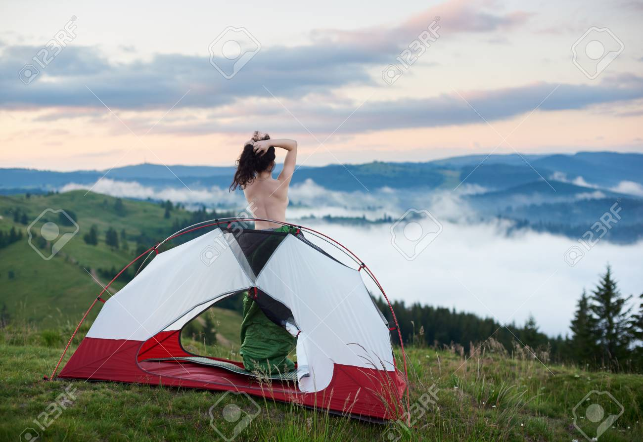 Naked real couples camping