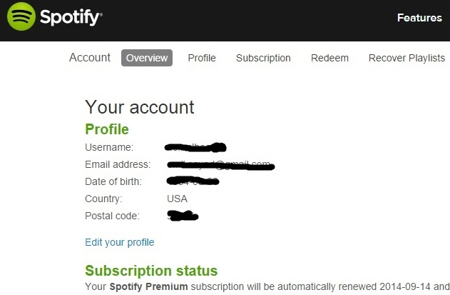 Spotify student account sign up