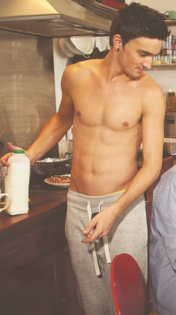 The wanted parker naked